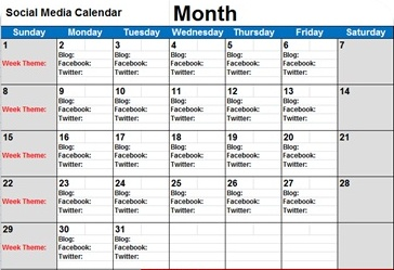5 Steps to Create A Social Media Calendar | Erica Mathews ...