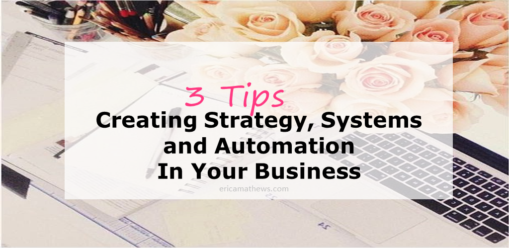 Creating Strategy, Systems and Automation In Your Business [PODCAST]