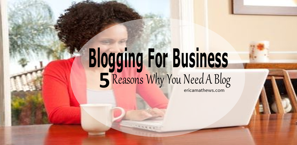 Blogging For Business – 5 Reasons You Need A Blog [PODCAST]