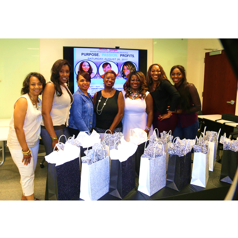Erica Mathews, Passion To Profit Event, Women Empowerment
