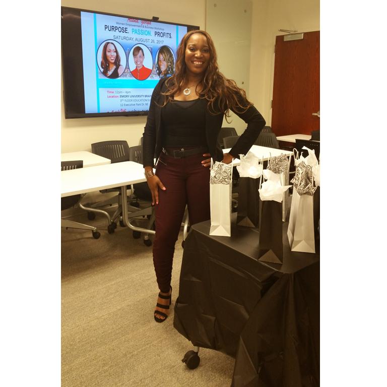 Erica Mathews, Passion To Profits Event, Women Empowerment